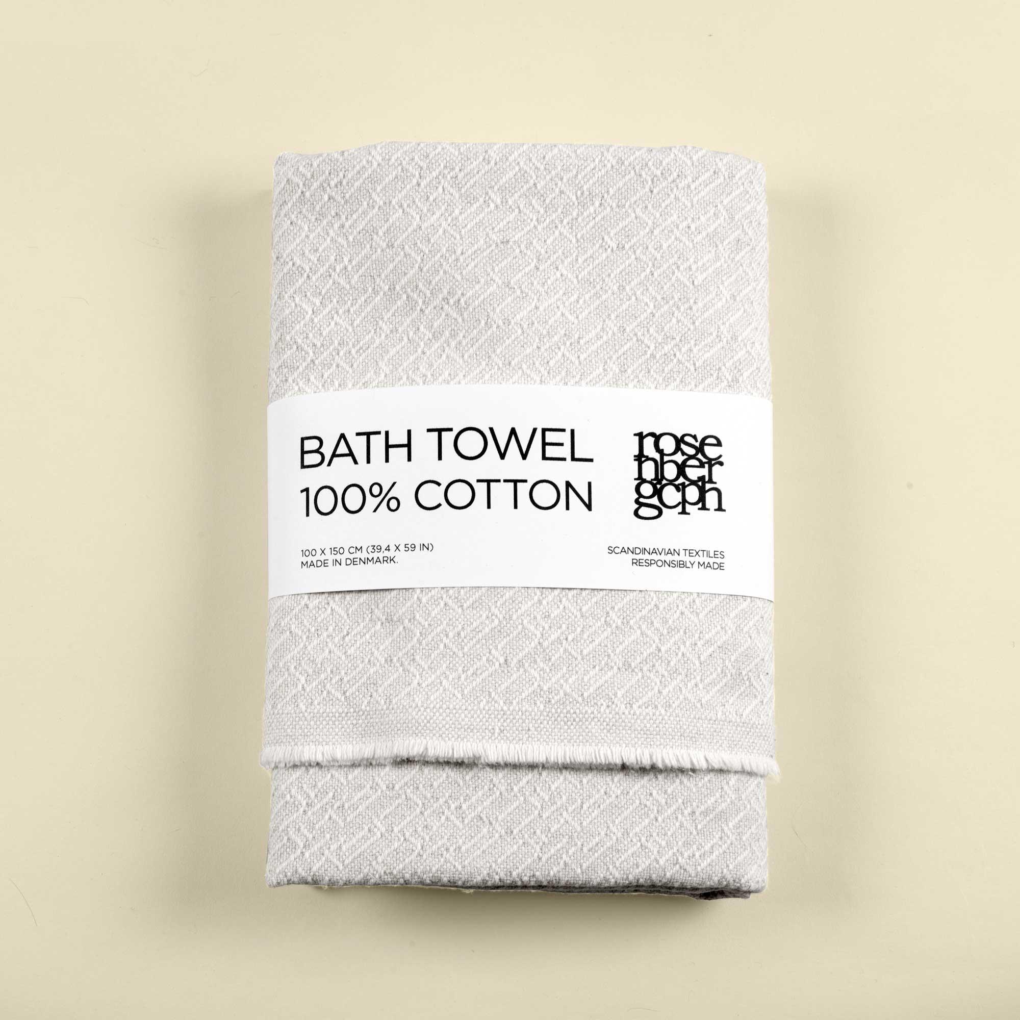 Bath towel, Mesh, 100% cotton, by RosenbergCph