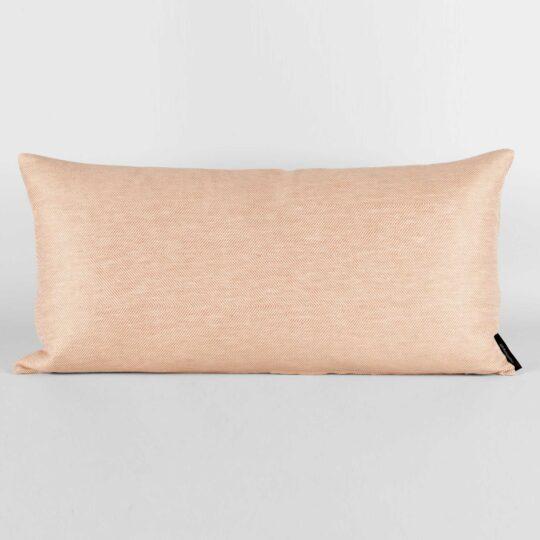 Rectangular cushion, coral