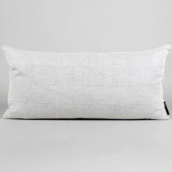 rectangular, linen/cotton, off white