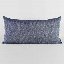 Rectangular, 100% linen, dark blue