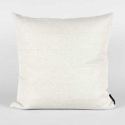 Square cushion, linen/cotton, light aqua green