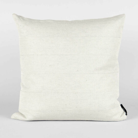 Square cushion, linen/cotton, light aqua green