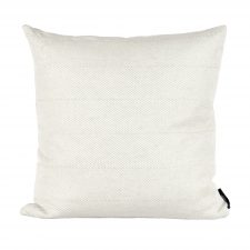 square linen/cotton cushion, light green