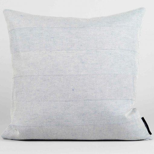 Square cushion, linen/cotton, off white