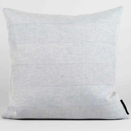Square cushion, linen/cotton, off white