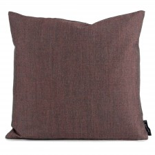 Square cushion wool brown