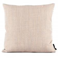 Square cushion wool grey/yellow