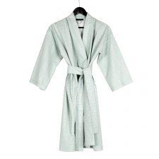 kimono bathrobe, dash aqua