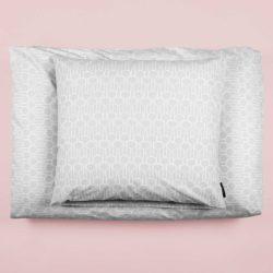 Bed linen Big drop grey, design by Anne Rosenberg, RosenbergCph