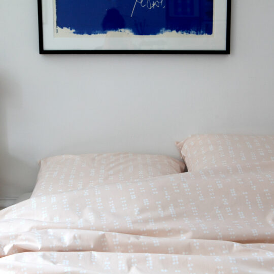 Bed linen, Dot sea shell, design Anne Rosenberg, RosenbergCph