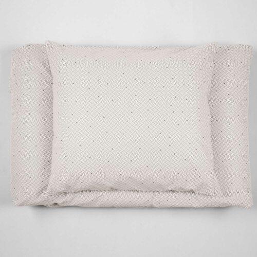 Bed linen, Weave Ash Grey, design Anne Rosenberg, RosenbergCph