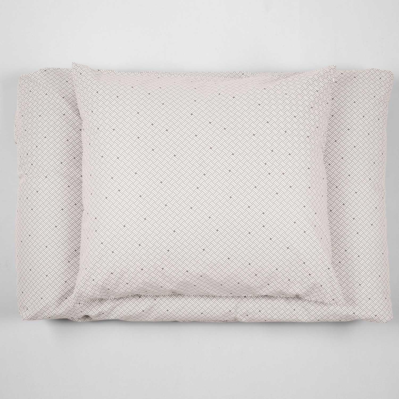 Bed linen, Weave Ash Grey, organic cotton design by Anne Rosenberg, RosenbergCph
