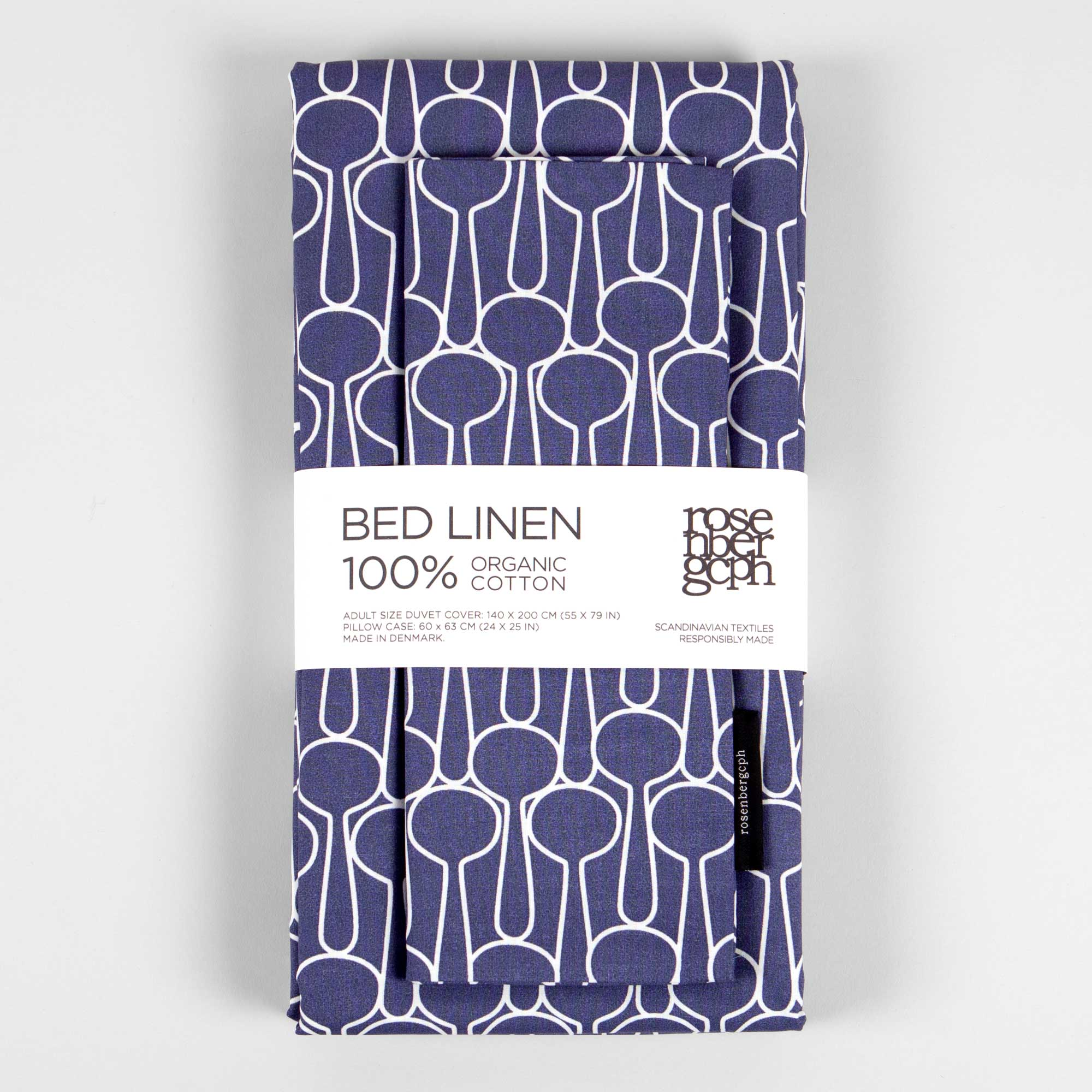 Bed linen, Big drop blue