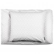 Big drop grey bed linen, organic cotton