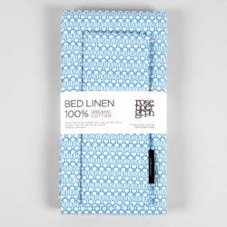 Bed linen, Drop blue