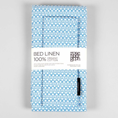 Bed linen, Drop blue