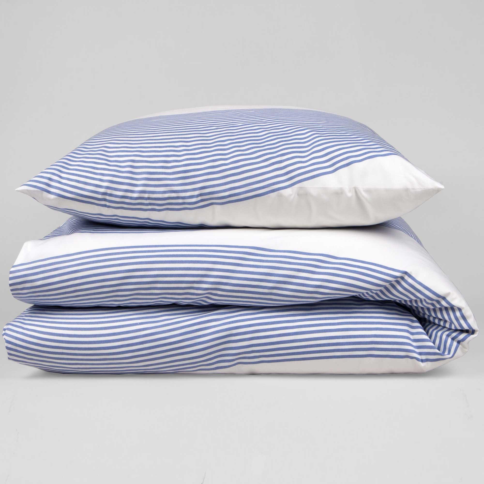 Bed linen, River blue, RosenbergCph, design by Anne Rosenberg