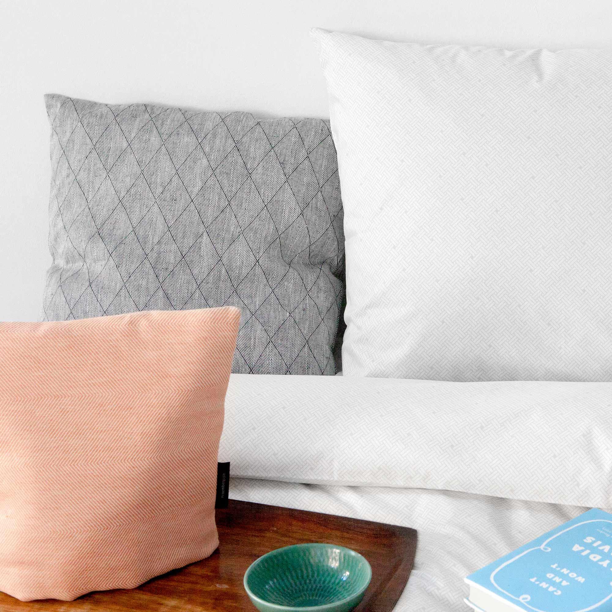 Bed linen, Weave mercury aqua