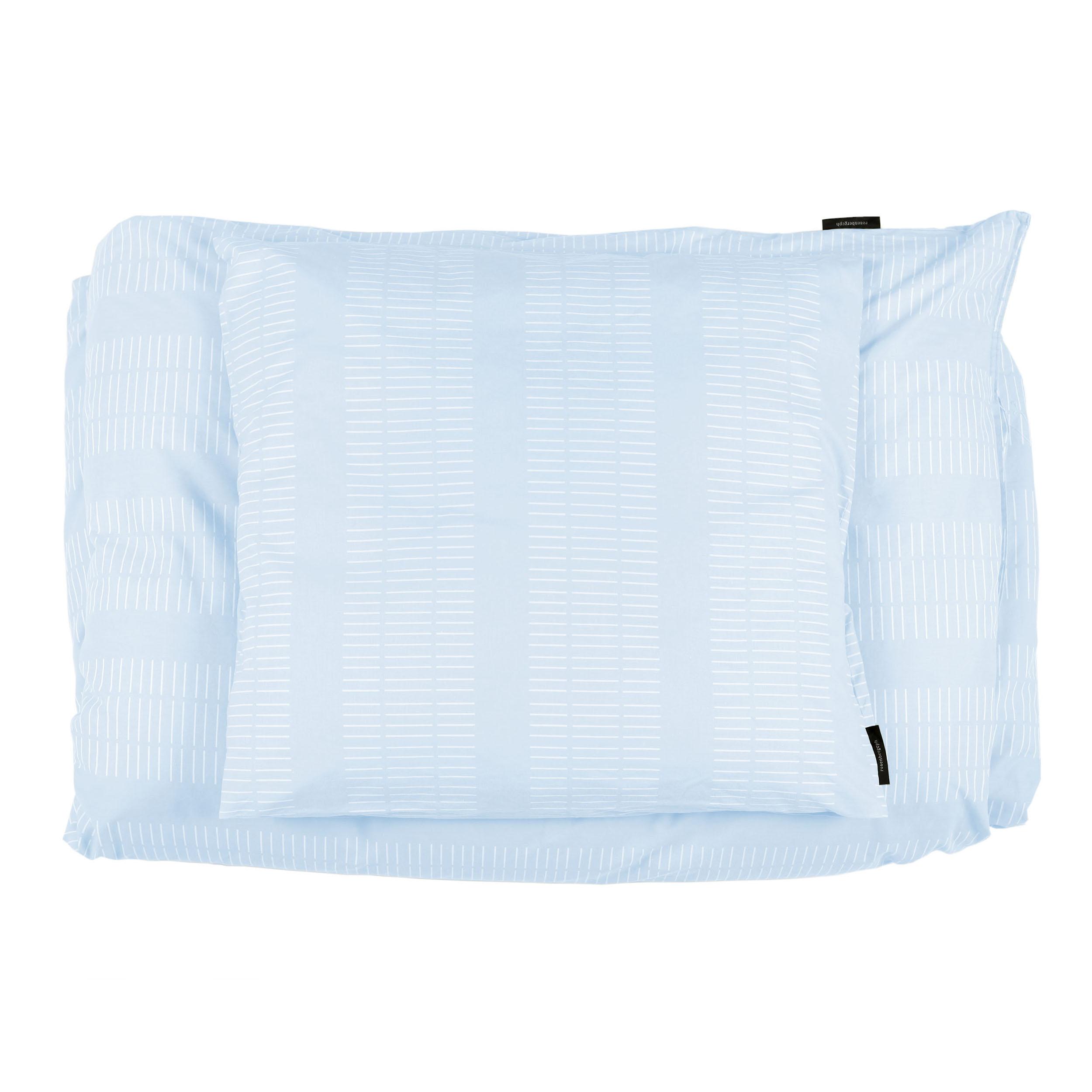 Bed linen, Dash morning sky, design Anne Rosenberg, RosenbergCph