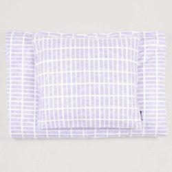 Bed linen, Tile lavender, design by Anne Rosenberg, RosenbergCph