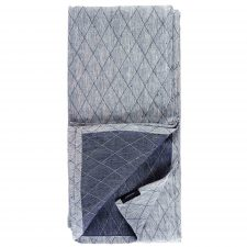 100% linen bedspread, folded
