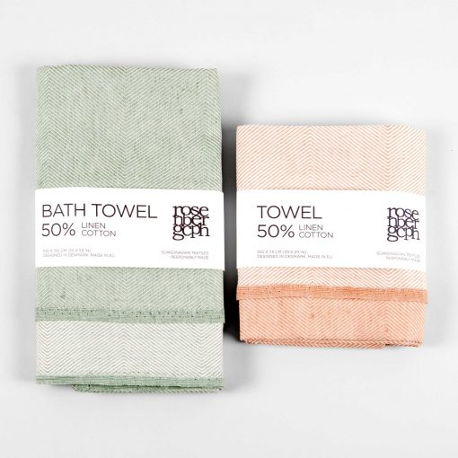 Bath towel and towel