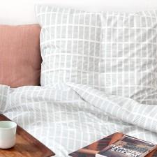 bed linen Tile aqua