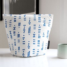 tea cosy dot blue