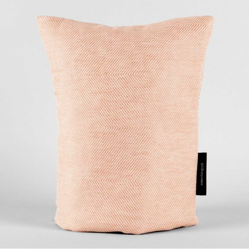 Coffee cosy, coral linen