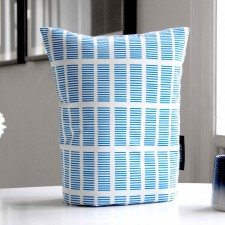 coffee cosy, tile blue