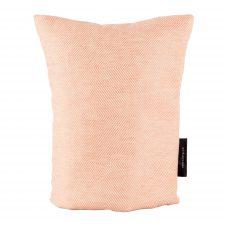 Coffee cosy, linen/cotton, coral