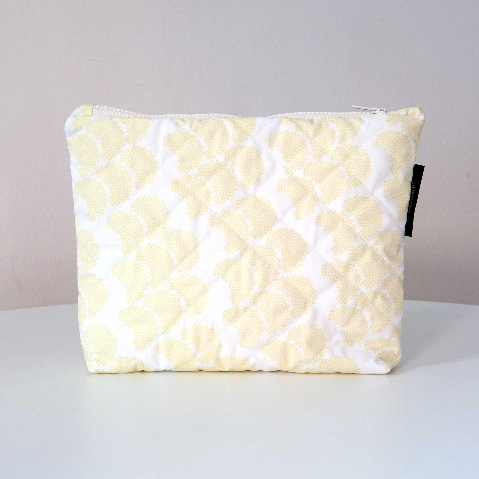 Ctrl purse, obi yellow organic cotton, design by Anne Rosenberg, RosenbergCph