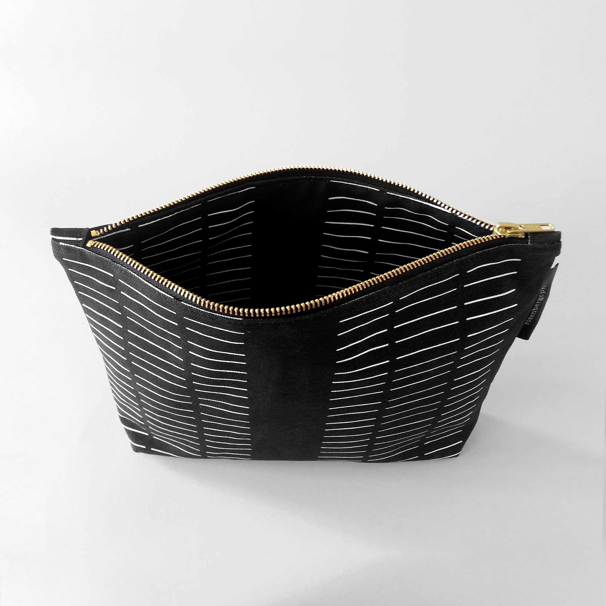 Ctrl purse, Dash black. Design by Anne Rosenberg, RosenbergCph