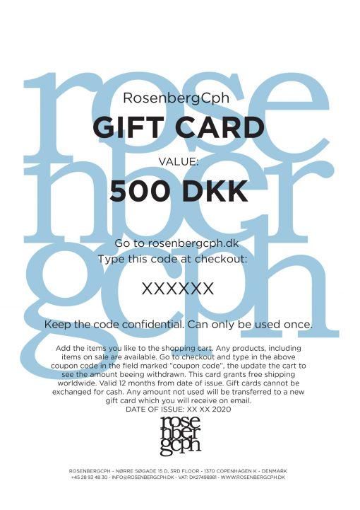 RosenbergCph Gift Card