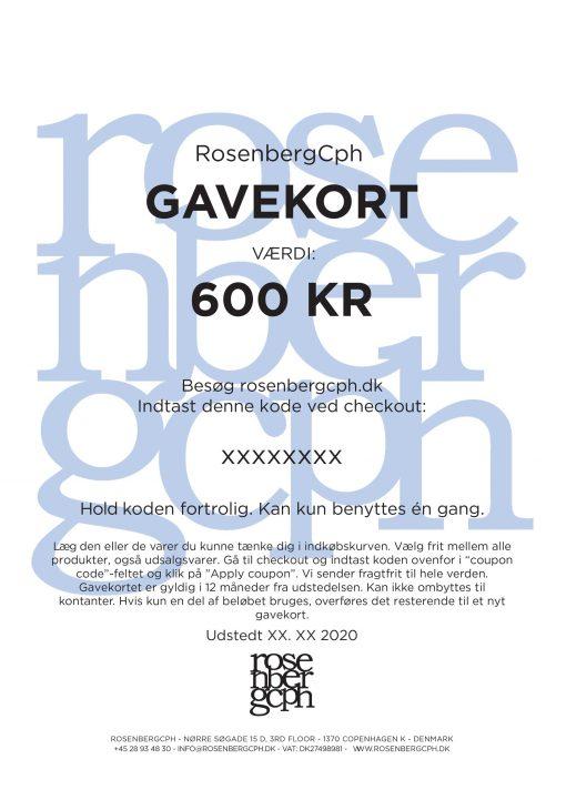RosenbergCph Gavekort