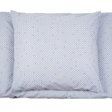 Bed linen, Weave blue