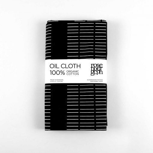 Oil cloth, Dash black