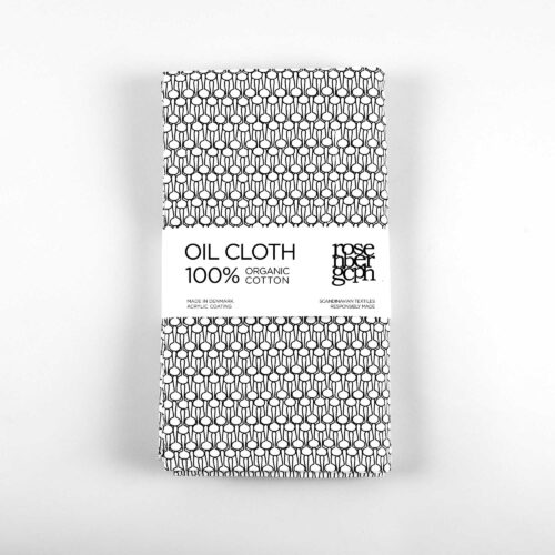 Oil cloth, Drop black