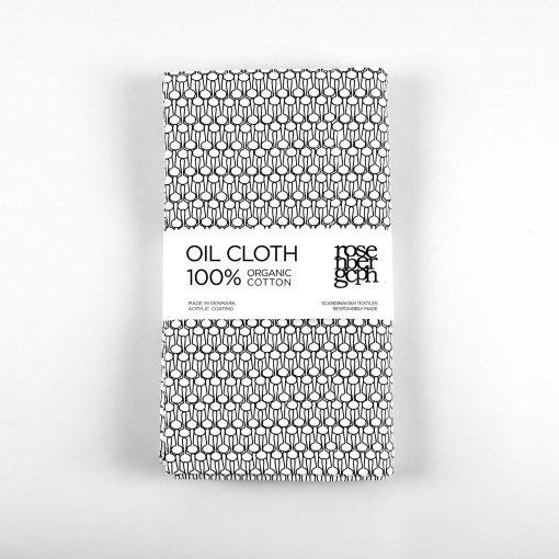Oil cloth, Drop black