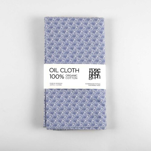 Oil cloth Fili blue