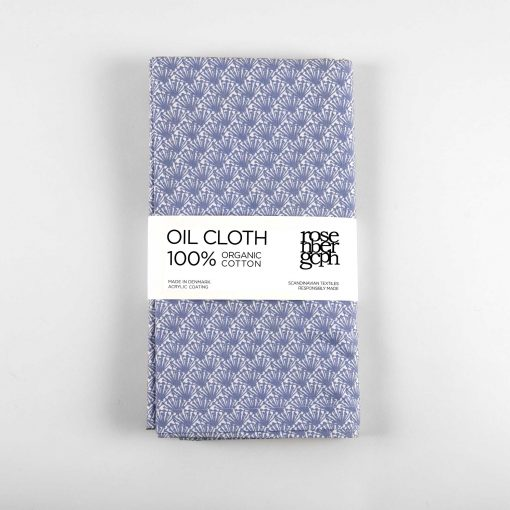 Oil cloth Fili blue