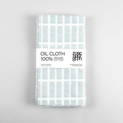 Oil cloth, Tile aqua