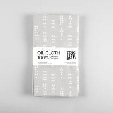 Oil cloth, Dot grey
