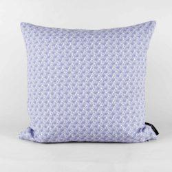 45x45cm organic cotton cushion, Fili blue