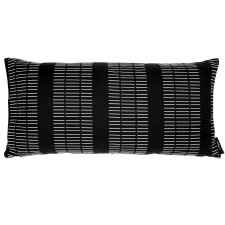 Rectangular cushion, Dash black