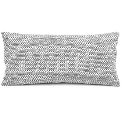 Rectangular cushion, Drop black