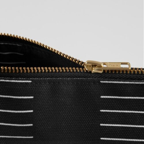 Purse, Dash black zipper detail