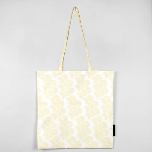 Shopping bag, Obi yellow, organic cotton