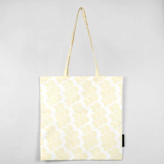 Shopping bag, Obi yellow, organic cotton