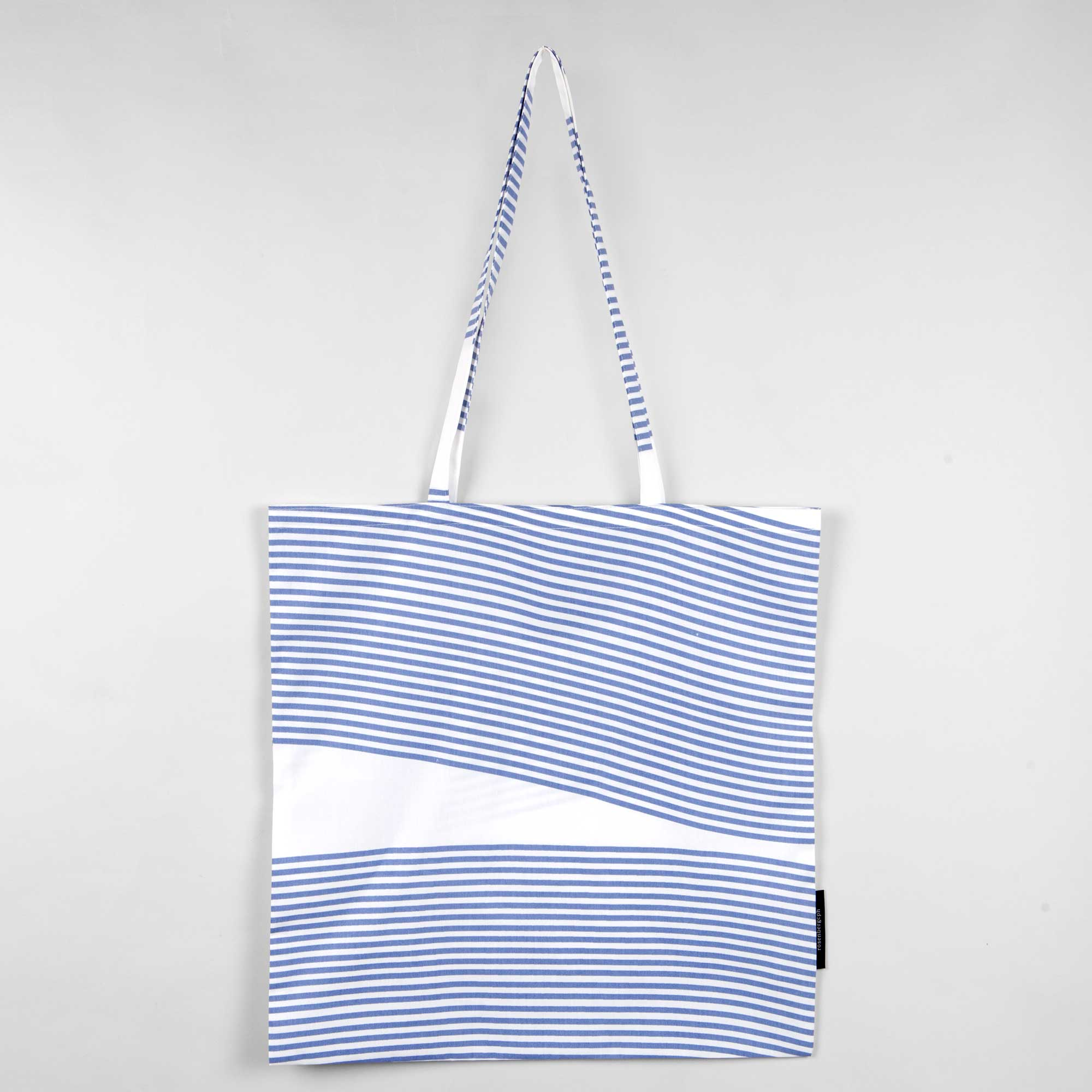 Shopping bag, Weave pale rose, organic cotton